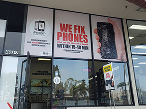 iPhone repair on telephone Rd in Ventura